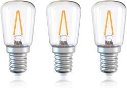 T26 трубчатые светодиодный свет лампы E14 винт в 2 Вт (20 Вт) 2700K теплый белый свет ламп накаливания, прибора лампа для холодильника, швейные машины, холодильники, плиту капота