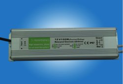 100W Waterproof Constant Voltage DEL Driver avec Pfc (GPE-WLD-100V)