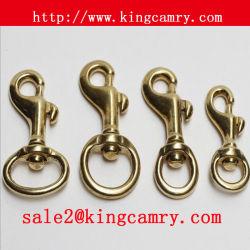Крюк кнопки латунного болта крюка кнопки крюка весны металла крюка шарнирного соединения пуска собачего крюка твердый для ключа багажа сумки мешка