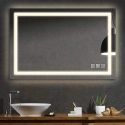 Sally u l a conduit la salle de bains tenture murale Miroir du contacteur de capteur tactile Foramazonebaytrade Accueil Salle de bains décoratif miroir LED