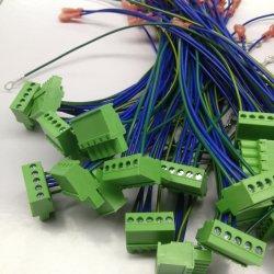 Parti per cavi assemblati con cavo terminale per macchinari industriali Cablaggio macchina