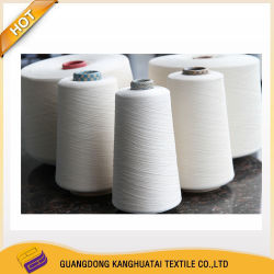 Van de Katoenen van Australië van de Verontreiniging van Kht Ne80s de Vrije Gekamde Compacte Gemengde Breiende Textiel Stof van het Garen