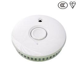En14604: 2005/AC: Cer 2008 10 Jahre 3V eingebaute Batterie-Rauchmelder-Warnungs-