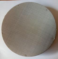 Forma redonda com pano de fio de aço inoxidável de telas do extrusor/Extruder-Screen Packs/filtros de tela de extrusão de plástico