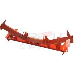 Speciaal ontworpen zelfuitlijnend draagstel transportband steunframe voor rollen Voor bandtransporteur