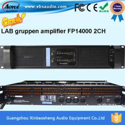De professionele AudioVersterker van de Macht Fp14000 2CH biedt Laboratorium Gruppen het hoofd