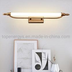 L'indicatore luminoso industriale fissato al muro IP65 della stanza da bagno della lampada da parete dell'indicatore luminoso 9W AC90-260V 55cm dello specchio del LED impermeabilizza il metallo acrilico