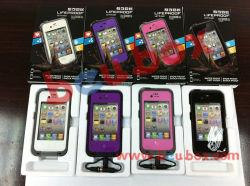 방수 내충격성 방수 케이스 Apple iPhone 4 4s 블랙