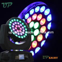 2019 illuminazione capa mobile della discoteca dello zoom LED di 36*10W 4in1