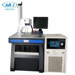macchina UV della marcatura del laser di 3W 5W per stampa di vetro di numero batch della data di scadenza di codice a barre del chip del cavo CI della scheda del PWB