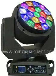 19*15W à LED de faisceau de l'oeil de l'Abeille Phare mobile avec zoom
