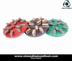 Diamants de la résine de caoutchouc Bond disque de meulage à béton et le polissage de pierre