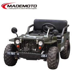 Refroidi par air adulte Essence 125cc 150 cc 200cc Mini Willys Jeep