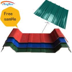プレハブの家のための波形のプラスチックASA UPVC屋根ふきシートの建築材料