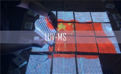 Programável para interior/exterior EL tela do painel