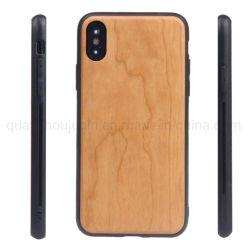Laser OEM personalizados de Logotipo iPhone 11 Móvel de Madeira Caso Telefone