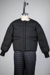La mujer 100% poliéster 4 Capas de la moda del 90% Duck Down Jacket