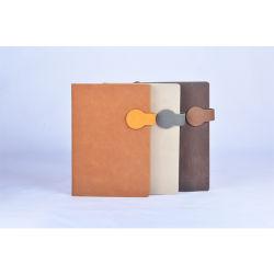 A5 настраиваемые PU кожаный чехол для ноутбука Capacity Planner магнитные кнопки
