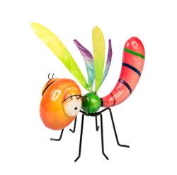 Acentos de jardín y decoración accesorios para el jardín ornamento de insectos de metal