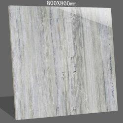 Verglaasde het Naar maat gemaakte Beste Volledige Opgepoetste Lichaam Foshan van de lage Prijs 800X800 de Marmeren Tegel van de Muur van de Vloer van het Porselein van de Tegel van de Badkamers Ceramische
