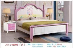 Het antieke Frame van het Bed met de Benen Peggy Design het Bed van de Slaapkamer van Koningin Size Villa Hotel van het Eiken Hout