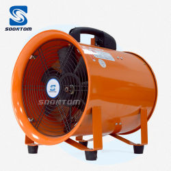 エアダクトポータブルベンチレータエレクトリックエキゾーストクーリングベンチレーションシステム AC ブロワ軸ファン