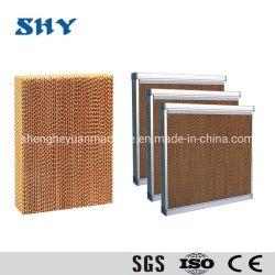 温室の温度調整のための蒸気化冷却のパッド