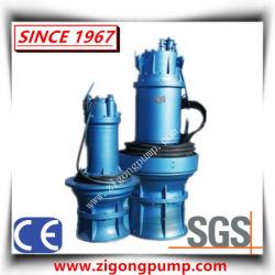 Nicht-Verstopfende versenkbare Roheisen-Abwasser-Pumpe