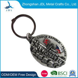 Caballo de metal de alta calidad Llavero Llavero Caballo de plata de 3D Oro antiguo personalizados Llavero de metal Soft enamel para Souvenir (49)