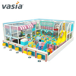 Les enfants de l'équipement de terrain de jeux Kids Zone programmable de l'intérieur pour le Shopping Mall de jeu