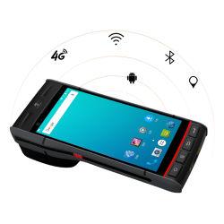 Android Market 8.1 PDA Handheld Terminal POS construído com a Impressora Térmica