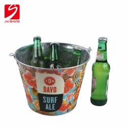 La glace en métal galvanisé Storange seau de bières refroidisseur pour partie