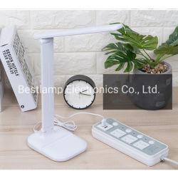 Faltbarer anrechenbarer LED Schreibtisch Lamp&#160 der moderner Entwurfs-Tisch-Lampen-;
