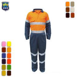 Oranje Overtrekken van de Veiligheid Vis van de Toon van de Uniformen van de veiligheid de In het groot Twee hallo