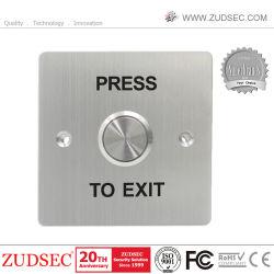 Pi68 Porta Impermeável Botão sair em aço inoxidável empurre a RFID solte o interruptor de controle de acesso