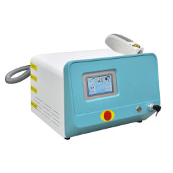 Small Style ND YAG Laser Tattoo Removal Device zum Verkauf Geswitched Laser 1064 nm, 532nm, 1320nm Q