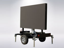P10 de Openlucht Waterdichte LEIDENE van de Kleur van de Reclame Video Volledige Aanhangwagen van de Vertoning