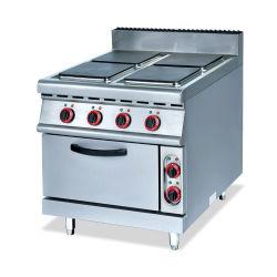 Het toejuichen Gasfornuis met 4-brander & Elektrische Oven