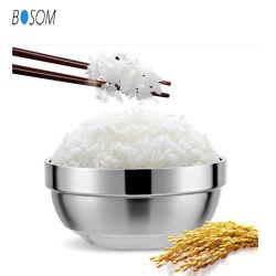 304 Fios de aço inoxidável de isolamento quente Bowl, beberões para recipiente de alimentos e recipiente para arroz.
