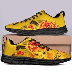 Mode Pod Deisgn personnalisée exécutant des chaussures de patinage de gros de sneakers pour les femmes de confortables chaussures de course de toile de la nouveauté la paresse des cadeaux avec logos