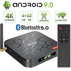 Pendoo X6 PRO Allwinner H6 Android Market 9.0 Caixa de TV 4K Quad Core Set Top Box WiFi 16GB 2 GB / 4 GB / 32 GB 4GB, 64GB