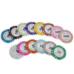カスタム印刷の粘土のポーカー用のチップRFIDのカジノチップ