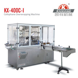 Emballage de cellophane Overwrapper Machine automatique