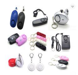 Signora personale Self-defense Protection Alarm dell'allarme con la torcia elettrica