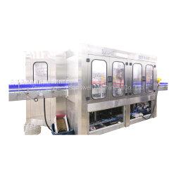 زجاجة مشروبات زجاجية آلية 3 في 1 تعبئة ببوتلينج الماكينة
