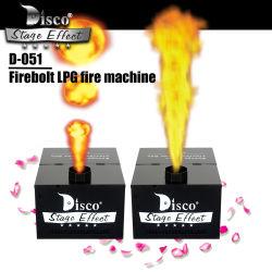 高さ1~5mの段階の炎の効果のFireboltの炎機械