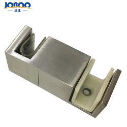 Roestvrij staal 304 van de goede Kwaliteit de Glijdende Hardware van de Gids van de Vloer van de Deur van de Douche Frameless voor de Deur van het Glas