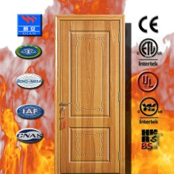 Высокое качество внутренних дел древесины дерева твердых композитный двери в квартиру