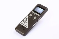 Tela LCD Mini Portable Spy Advogado Piscina policial entrevista telefônica Gravação Longa Gravador de voz de 8 GB (700)