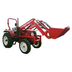 50-60HP en Huaxia Tractor agrícola con cargador frontal